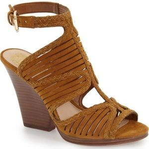 Vince Camuto suede thick heels!